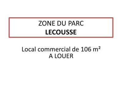 LOCAL COMMERCIAL FOUGERES - 106 m2